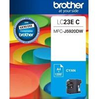 LC-23EC - Brother LC23E Cyan Ink Cart