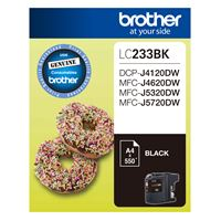 LC-233BK - Brother LC233 Black Ink Cartridge