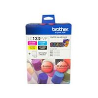 LC-133PVP - Brother LC133 Photo Value Pack