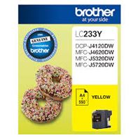 LC-233Y - Brother LC233 Yellow Ink Cartridge