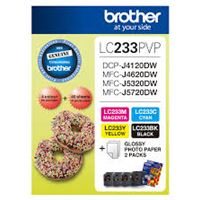 LC-233PVP - Brother LC233 Photo Value Pack