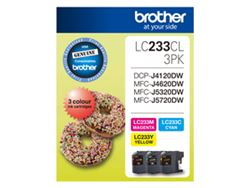 LC-233CL3PK - Brother LC233 CMY Colour Pack