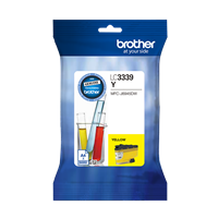 LC3339XLY - Brother LC3339XL Yellow Ink