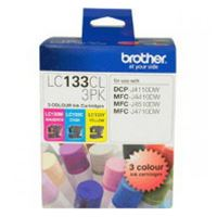 LC-133CL3PK - Brother LC133 CMY Colour Pack