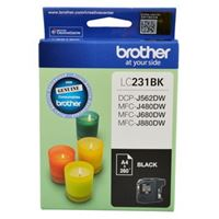 LC-231BKS - Brother LC231 Black Ink Cartridge