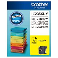 LC-235XLY - Brother LC235XL Yellow Ink Cartridge