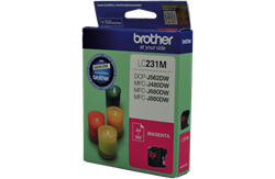 LC-231MS - Brother LC231 Magenta Ink Cartridge